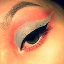 Baby Blue & Coral :3