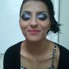 My makeup on Georgiana