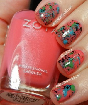 For full details head on over to http://www.letthemhavepolish.com/2013/07/pink-wednesday-zoya-micky-splatter.html
