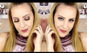 Valentines Day Makeup Look 2017 | Ashley Engles