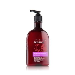 Bath & Body Works Aromatherapy Hand Soap Sensual - Black Currant Vanilla