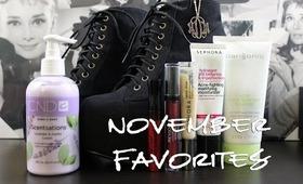 NovemberFavorites