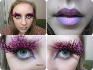 I am not quite sure what to call this look, but I had a lot of fun doing it! What would you call this look?