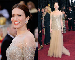 Oscar Makeup 2011: Mandy Moore