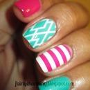 Diamonds and stripes