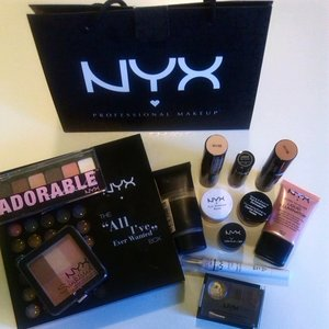 This is my Nyx collection,for makeup.