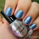Shimmer Jennifer on top of Zoya Tallulah