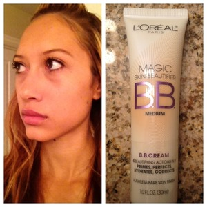 L'Oreal Magic skin brightener BB cream in medium