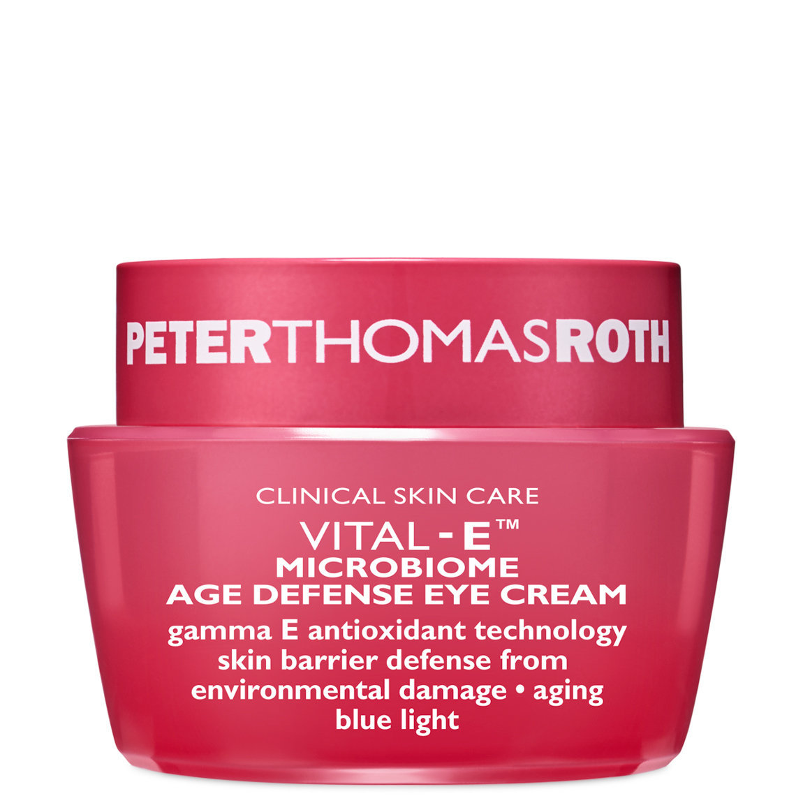 Peter Thomas Roth Vital E Microbiome Age Defense Eye Cream product swatch.