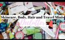Decluttering Skincare, Bodycare, Hair Products and Travel Toiletries
