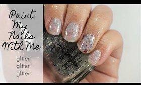 Paint My Nails With Me: Glitter Glitter Glitter | yukieloves // warmvanillasugar0823