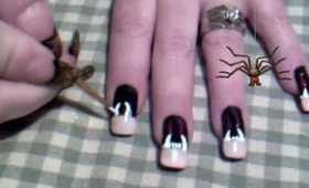 ~ Vampire Fang Nails ~ WHAT?!?!?!  Crazyness Right  o.O