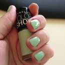 mint nailpolish - green with envy 320
