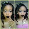 Everyday Makeup Twist Night Look - Close Up