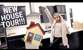 WE BOUGHT A HOUSE! SEMI EMPTY HOUSE TOUR!!!