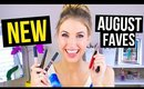 August Beauty Favorites 2015 || *NEW* Products I'm Loving!