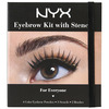 NYX Cosmetics Eyebrow Kit with Stencil