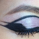 double wing cut crease
