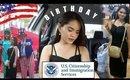 My First Day as a U.S. Citizen / Birthday Dinner: Vlog #27- 09/20/17
