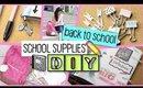 DIY School Supplies - 5 Easy Projects + GIVEAWAY | #SCHOOLSIMPLIFIED