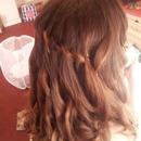 sisters hair for navy ball