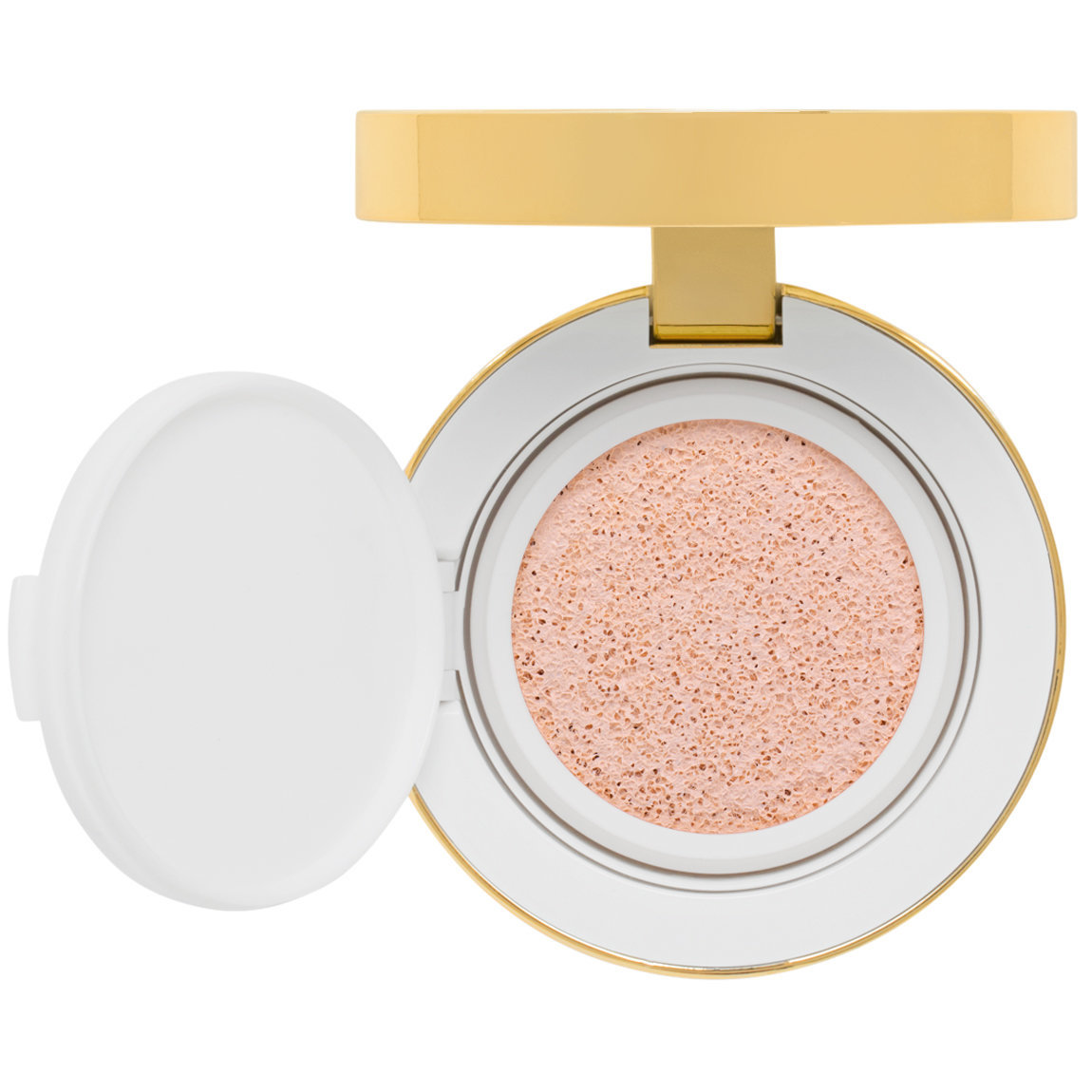 TOM FORD Soleil Glow Tone Up Foundation Hydrating Cushion Compact 1 Rose Glow Tone Up product swatch.