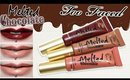 Review & Swatches: TOO FACED Melted Chocolate Liquified Long Wear Lipsticks | Dupes!
