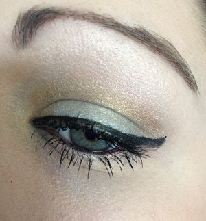 A simple springy look to me using the Cinderella Sephora Palette and the Urban Decay Vice Palette