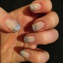 glitter tips