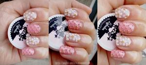 Amazing and cute bridal nails