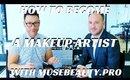 HOW TO BECOME A MAKEUP ARTIST W/ MUSEBEAUTY.PRO | ALPHONSE WIEBELT INTERVIEW PT1- mathias4makeup