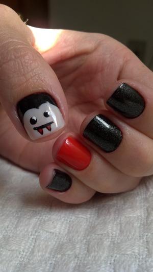 Vampire nails.