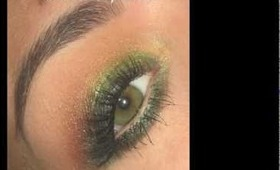 """"""" Autumn leaves """" inspired makeup tutorial"""