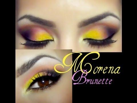 piel morena makeup