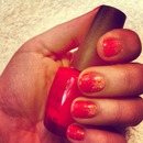 ombré rockstar nails