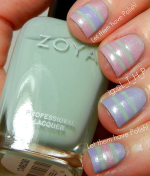 A Spring Inspired Nail Look with Zoya Lovely Collection Shades