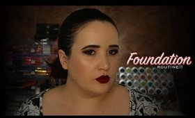 l ⭐️ l My Current Full Coverage Foundation Routine! l ⭐️ l