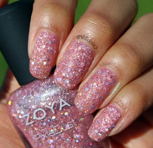 Swatch of Zoya Ginni! This was two coats.  I absolutely love this polish!