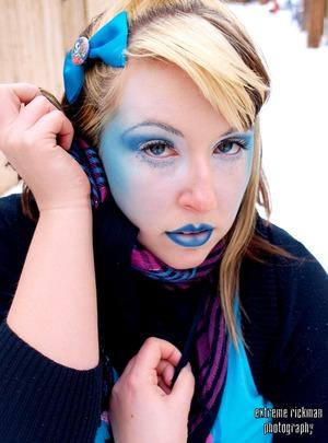 Snow Queen - Avant Garde Look for Photoshoot
