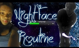 Night Face Routine