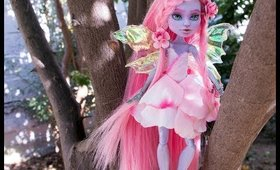 Pink Flower Fairy Doll repaint