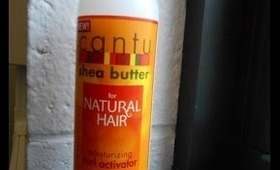 Review: Cantu Curl Activating Cream--Plus UPDATES: Haircut and Video Ideas???