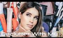 DECLUTTER & ORGANIZE MY MAKEUP COLLECTION WITH ME | NOV 2019
