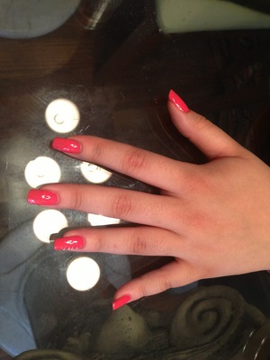 Nails using kiko nail laquer