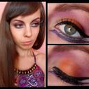 Orange & Violet