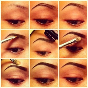 Shaping your brows