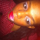 Red/pink lips gradient