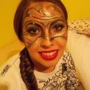 Masquerade look make up :)