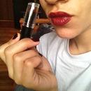 Wet n Wild matte lipstick in Cherry Bomb