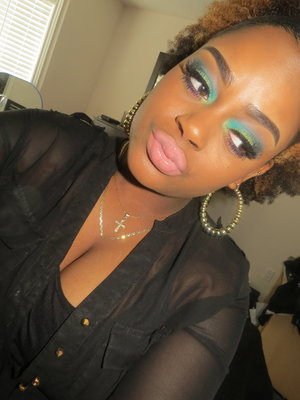 This is my look for the NYX face awards. Video coming soon to my channel please check it out and subscribe !! :)